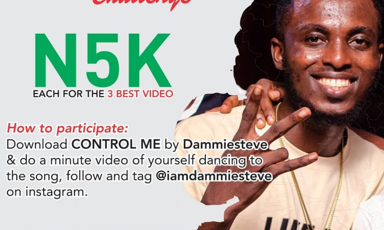 CONTROL ME CHALLENGE BY DAMMIESTEVE
