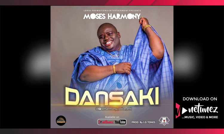 Moses Harmony - Dansaki - Netunez Cover