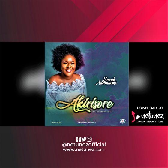 SARAH ADEWUNMI AKIRISORE ALBUM COVER NETUNEZ
